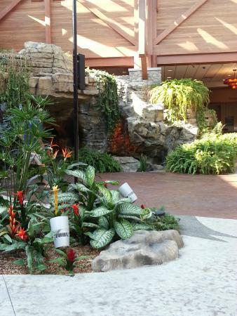 Little River Casino Resort: rainforest area to relax