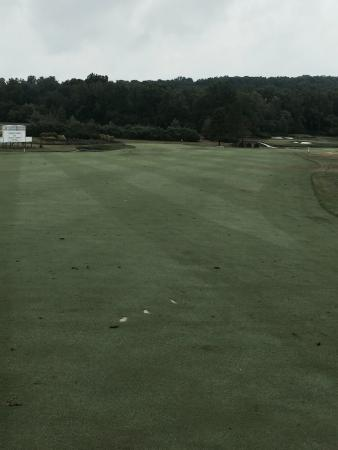 Davidsonville, Мэриленд: From the fairway at hole 6 (Augusta Hole #11)