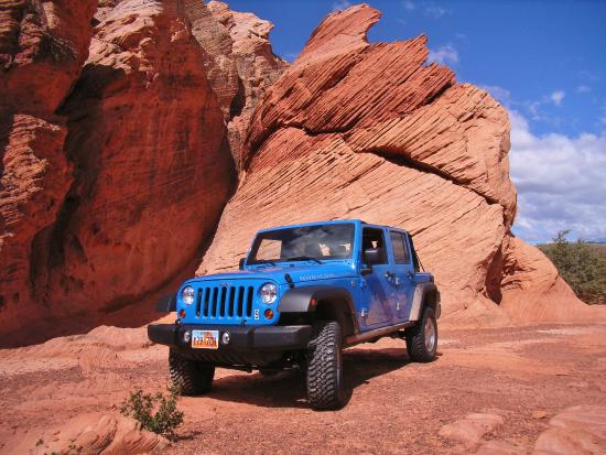 Southern Utah Adventure Center : So Many Jeeps Trails to Choose from