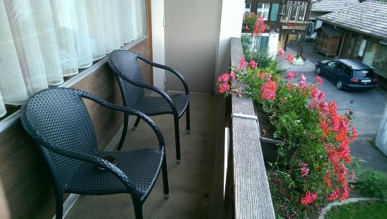 Hotel Adler: Room Balcony