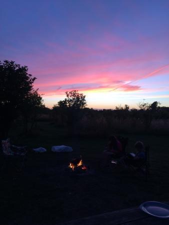 Nympsfield, UK: Aug 2015 fab back to basics camping.
