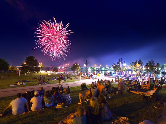 One of the Midwest's Largest Fireworks Displays, the Bay City Fireworks Festival