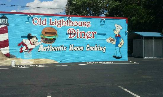 Old Lighthouse: Outside Mural