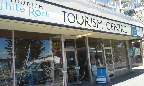 The White Rock Tourism Uptown Centre.