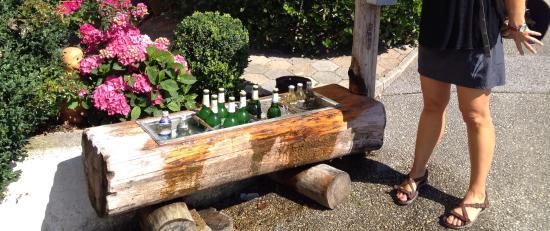 Gasthof Hotel Post: Bebidas para el caminante de los tiroleses