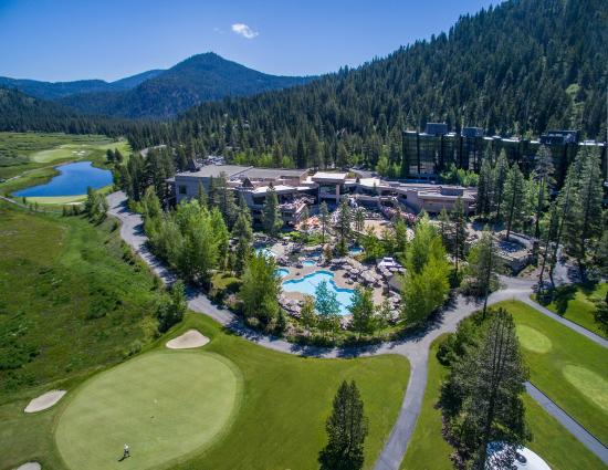 Resort at Squaw Creek: Aerial view of the resort