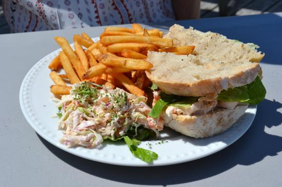 West Dover, Canadá: Lobster sandwich