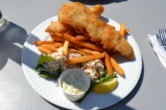 West Dover, Canadá: Fish and chips