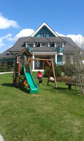 Pension Paula: Pension with the playground