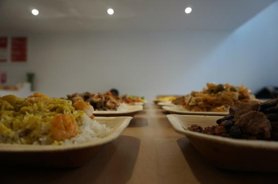 Plat composé photo de ose african cuisine paris