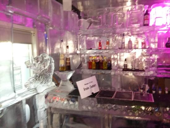 Freddy's Ice House: Cool bar.....ice cool