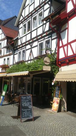Bad Sooden-Allendorf, Jerman: Restaurant Cafe Cheers
