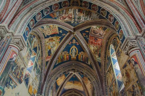 Basilica di Santa Caterina d'Alessandria: Galatina interno navata chiesa di S.Caterina di Alessandria