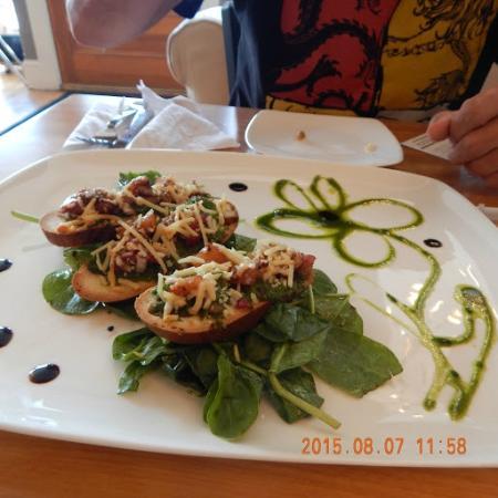 Cascade Coffeehouse and Cafe: Bruschetta