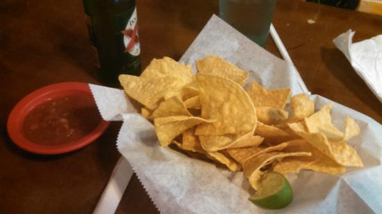 Meade, KS: complementary chips and salsa