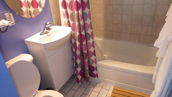 Aux Portes du Soleil: Salle de bain