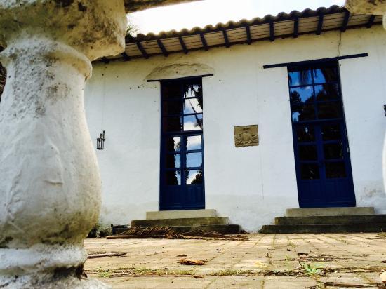 Hacienda Pinsaqui: Rincón del Jardín
