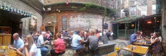 the outdoor patio picture of arnolds bar grill cincinnati
