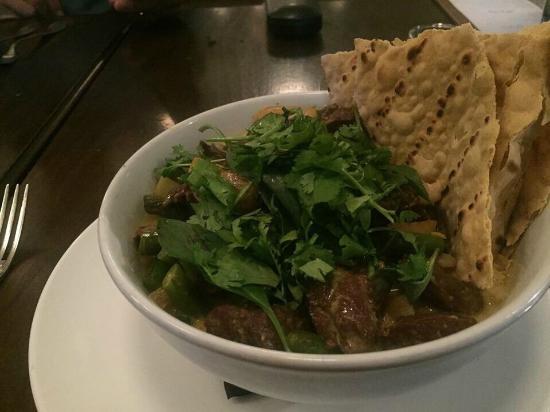 agustin kitchen curry lamb dish - Agustin Kitchen