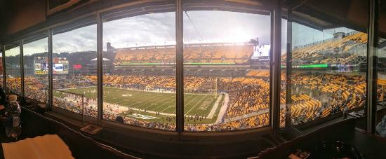 Panoramic For Box Seats Picture Of Heinz Field Pittsburgh