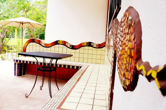 Villa ZenaLiza: Detalle mosaico
