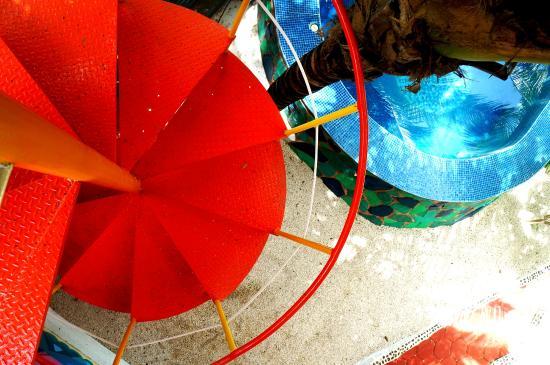 Villa ZenaLiza: Escalera espiral