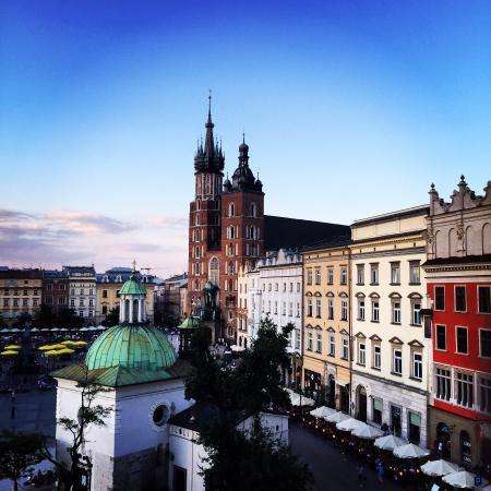 Cracow Hostel: View from our room