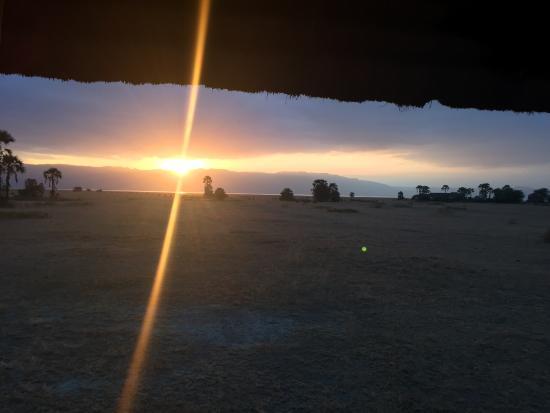 Maramboi Tented Camp: Atardecer en Maramboi camp