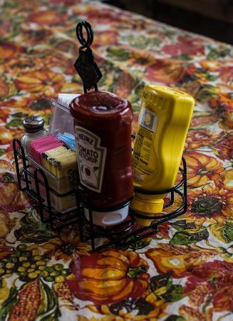 Ribera, Nouveau-Mexique : Condiments