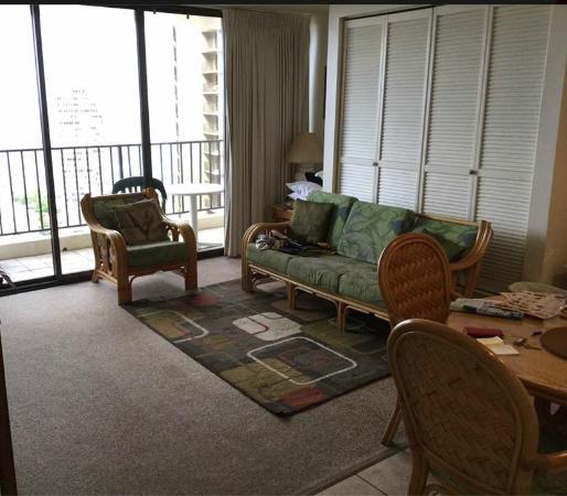 Darmic Waikiki Banyan: Lounge Room