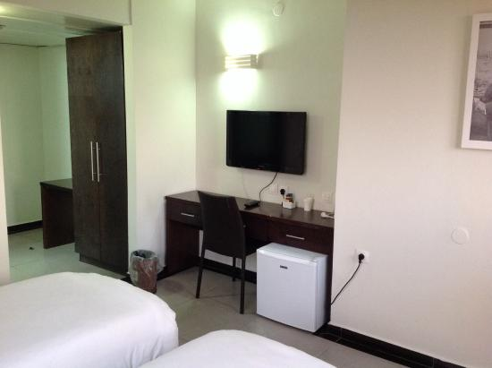 Theodor Hotel: こじんまりとした室内設備