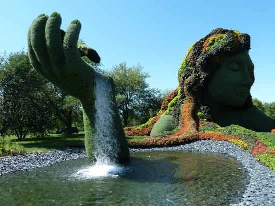 Jardin Botanique de Montreal : mosaïcultures 2013