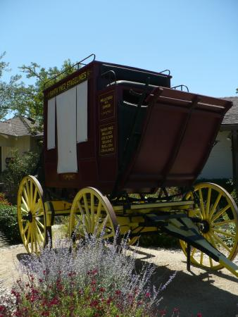 Stagecoach In Front -Santa Ynez Valley Historical Museum