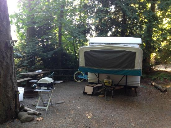 Garden Faire Campground: Private and beautiful