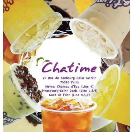 restaurant chatime dans paris avec cuisine asiatique. Black Bedroom Furniture Sets. Home Design Ideas