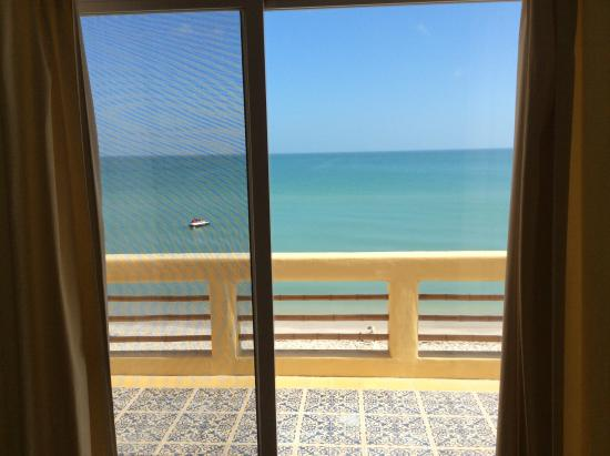 Flamingos Inn: View from the room