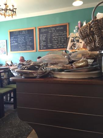 Cafe Primo e Secundo: Great coffee and food in an eclectic surrounding.
