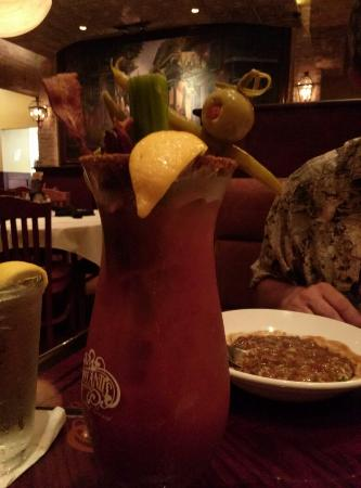 Copeland's of New Orleans: Applewood bacon bloody mary