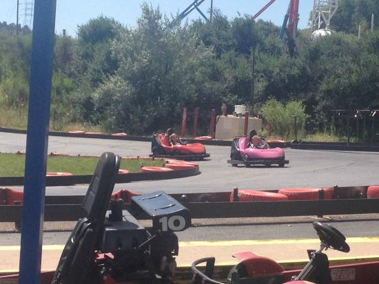 Heritage Square Family Entertainment Village: Go-karts for kids