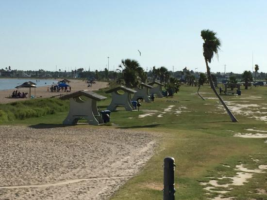 Rockport, TX: View from the pavilion