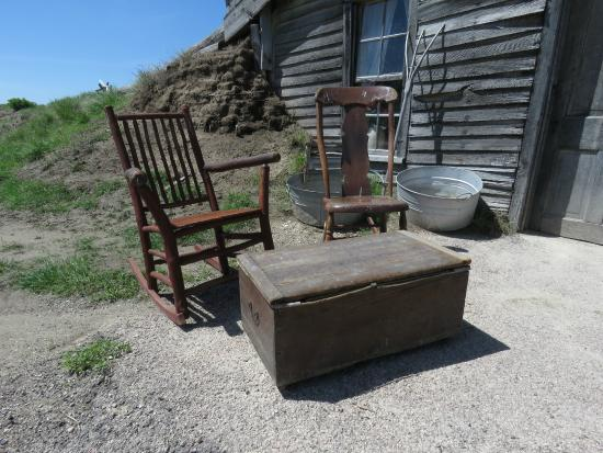 "Prairie Homestead Historic Site: Prairie Homestead ""front porch"""