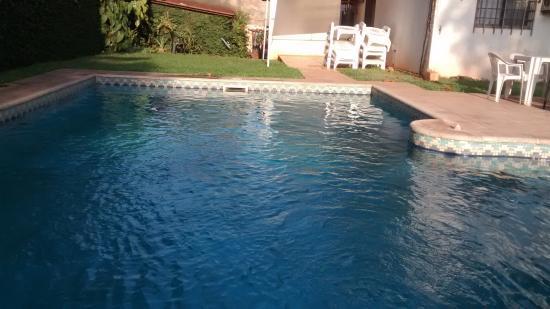 Hosteria Casa Blanca Iguazu: pileta del hotel