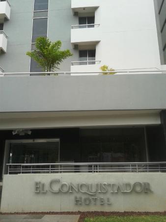 Hotel El Conquistador : Fachada do hotel