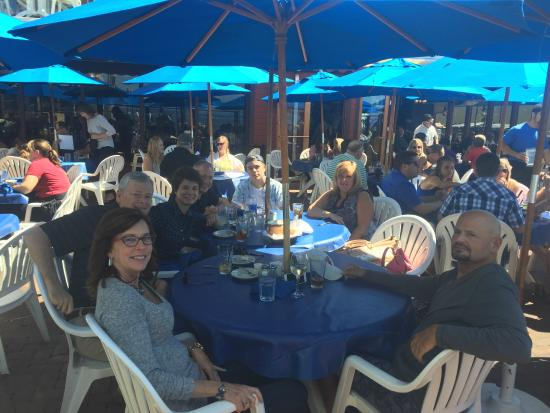 The Fishermans Restaurant And Bar: Eating On The Patio