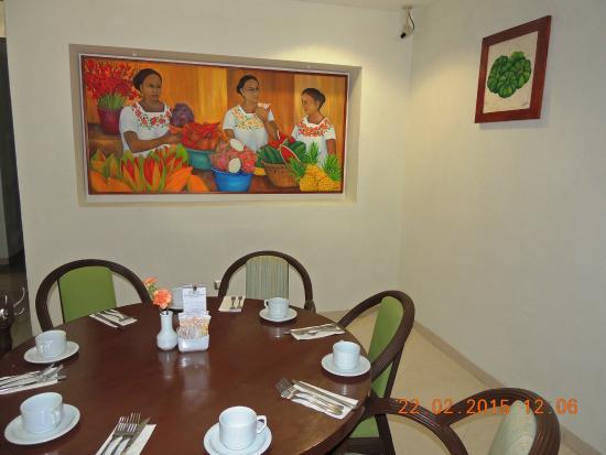 Restaurante Picture Of Hotel El Conquistador Merida Tripadvisor