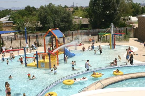 Summer waterpark june and july picture of foothills recreation and aquatics center glendale for Chandler public swimming pools