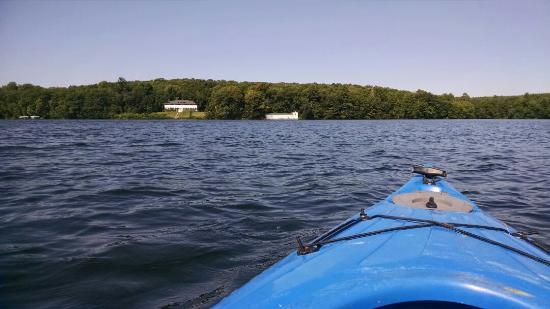 Angler's Haven Resort: Kayaking  at Angler's Haven