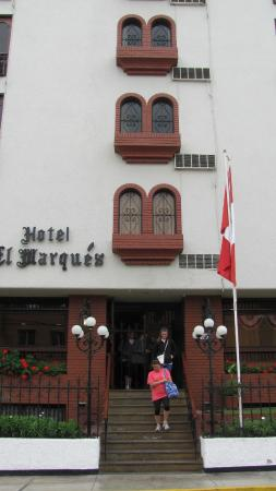 El Marques de San Isidro: Exterior of Lovely Hotel El Marques in Lima