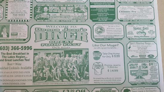 Donna Jean's Diner : Great little diner.