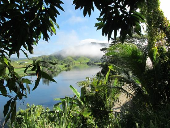 Daintree Village Bed and Breakfast: Morning on the Daintree River